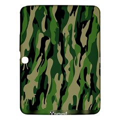 Green Military Vector Pattern Texture Samsung Galaxy Tab 3 (10.1 ) P5200 Hardshell Case