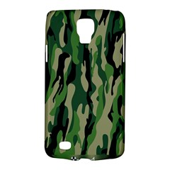 Green Military Vector Pattern Texture Galaxy S4 Active
