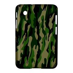 Green Military Vector Pattern Texture Samsung Galaxy Tab 2 (7 ) P3100 Hardshell Case