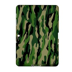 Green Military Vector Pattern Texture Samsung Galaxy Tab 2 (10.1 ) P5100 Hardshell Case