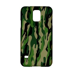 Green Military Vector Pattern Texture Samsung Galaxy S5 Hardshell Case