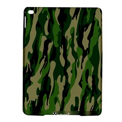 Green Military Vector Pattern Texture iPad Air 2 Hardshell Cases