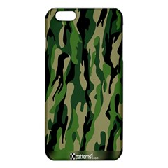 Green Military Vector Pattern Texture iPhone 6 Plus/6S Plus TPU Case