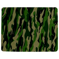 Green Military Vector Pattern Texture Jigsaw Puzzle Photo Stand (rectangular)