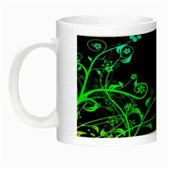 Abstract Colorful Plants Night Luminous Mugs