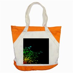 Abstract Colorful Plants Accent Tote Bag