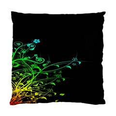 Abstract Colorful Plants Standard Cushion Case (One Side)