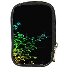 Abstract Colorful Plants Compact Camera Cases