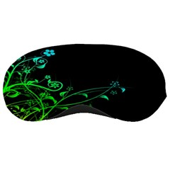 Abstract Colorful Plants Sleeping Masks