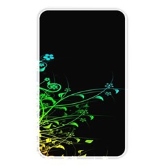 Abstract Colorful Plants Memory Card Reader