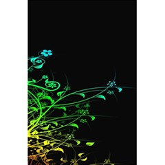 Abstract Colorful Plants 5.5  x 8.5  Notebooks