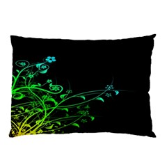 Abstract Colorful Plants Pillow Case (Two Sides)
