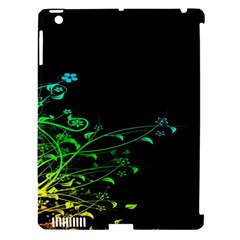 Abstract Colorful Plants Apple Ipad 3/4 Hardshell Case (compatible With Smart Cover)