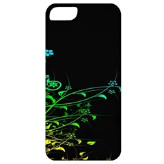Abstract Colorful Plants Apple iPhone 5 Classic Hardshell Case