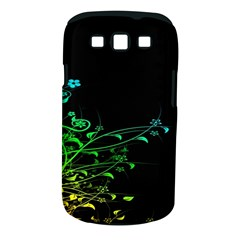 Abstract Colorful Plants Samsung Galaxy S III Classic Hardshell Case (PC+Silicone)