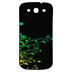 Abstract Colorful Plants Samsung Galaxy S3 S Iii Classic Hardshell Back Case