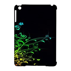 Abstract Colorful Plants Apple iPad Mini Hardshell Case (Compatible with Smart Cover)