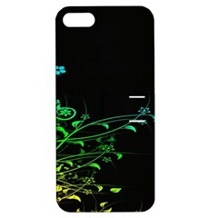 Abstract Colorful Plants Apple Iphone 5 Hardshell Case With Stand