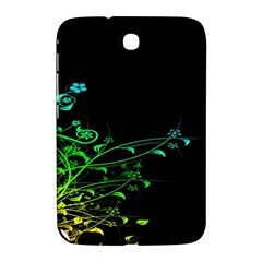 Abstract Colorful Plants Samsung Galaxy Note 8.0 N5100 Hardshell Case
