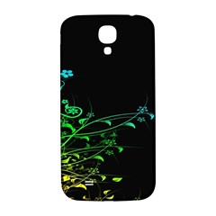 Abstract Colorful Plants Samsung Galaxy S4 I9500/i9505  Hardshell Back Case