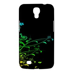 Abstract Colorful Plants Samsung Galaxy Mega 6.3  I9200 Hardshell Case