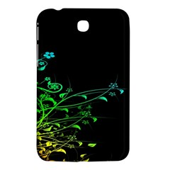 Abstract Colorful Plants Samsung Galaxy Tab 3 (7 ) P3200 Hardshell Case