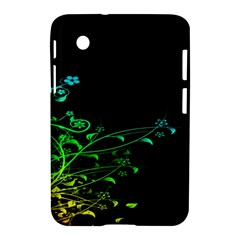 Abstract Colorful Plants Samsung Galaxy Tab 2 (7 ) P3100 Hardshell Case