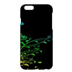 Abstract Colorful Plants Apple Iphone 6 Plus/6s Plus Hardshell Case