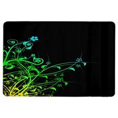 Abstract Colorful Plants Ipad Air 2 Flip