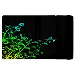 Abstract Colorful Plants Apple Ipad Pro 9 7   Flip Case