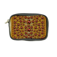 Angels In Gold And Flowers Of Paradise Rocks Coin Purse