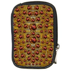 Angels In Gold And Flowers Of Paradise Rocks Compact Camera Cases