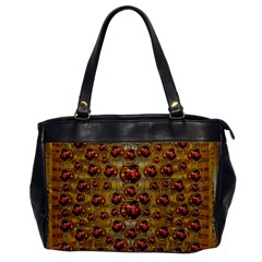 Angels In Gold And Flowers Of Paradise Rocks Office Handbags
