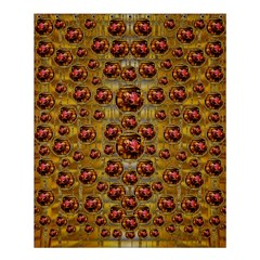 Angels In Gold And Flowers Of Paradise Rocks Shower Curtain 60  x 72  (Medium)