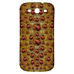 Angels In Gold And Flowers Of Paradise Rocks Samsung Galaxy S3 S Iii Classic Hardshell Back Case