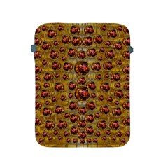 Angels In Gold And Flowers Of Paradise Rocks Apple iPad 2/3/4 Protective Soft Cases