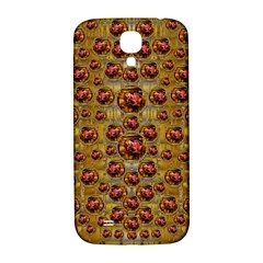Angels In Gold And Flowers Of Paradise Rocks Samsung Galaxy S4 I9500/I9505  Hardshell Back Case