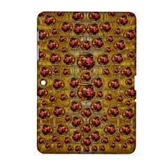 Angels In Gold And Flowers Of Paradise Rocks Samsung Galaxy Tab 2 (10.1 ) P5100 Hardshell Case