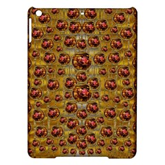 Angels In Gold And Flowers Of Paradise Rocks Ipad Air Hardshell Cases