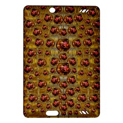 Angels In Gold And Flowers Of Paradise Rocks Amazon Kindle Fire HD (2013) Hardshell Case