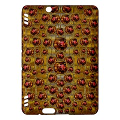 Angels In Gold And Flowers Of Paradise Rocks Kindle Fire HDX Hardshell Case