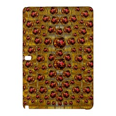 Angels In Gold And Flowers Of Paradise Rocks Samsung Galaxy Tab Pro 12 2 Hardshell Case