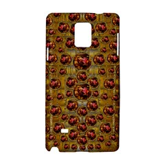 Angels In Gold And Flowers Of Paradise Rocks Samsung Galaxy Note 4 Hardshell Case