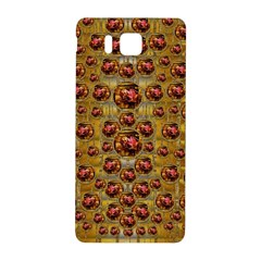 Angels In Gold And Flowers Of Paradise Rocks Samsung Galaxy Alpha Hardshell Back Case
