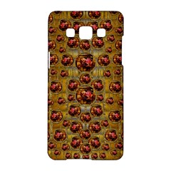 Angels In Gold And Flowers Of Paradise Rocks Samsung Galaxy A5 Hardshell Case