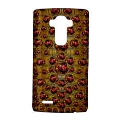 Angels In Gold And Flowers Of Paradise Rocks LG G4 Hardshell Case