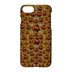 Angels In Gold And Flowers Of Paradise Rocks Apple iPhone 7 Hardshell Case