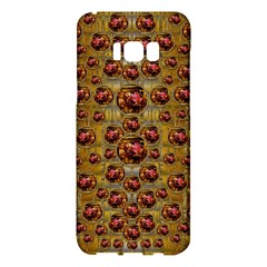 Angels In Gold And Flowers Of Paradise Rocks Samsung Galaxy S8 Plus Hardshell Case