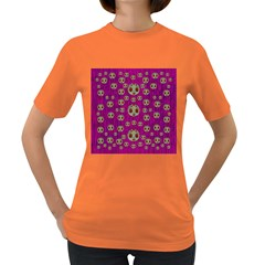 Ladybug In The Forest Of Fantasy Women s Dark T-Shirt