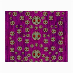 Ladybug In The Forest Of Fantasy Small Glasses Cloth (2-Side)